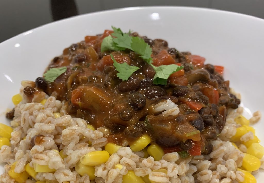 Vegan Chilli with Emmer wheat