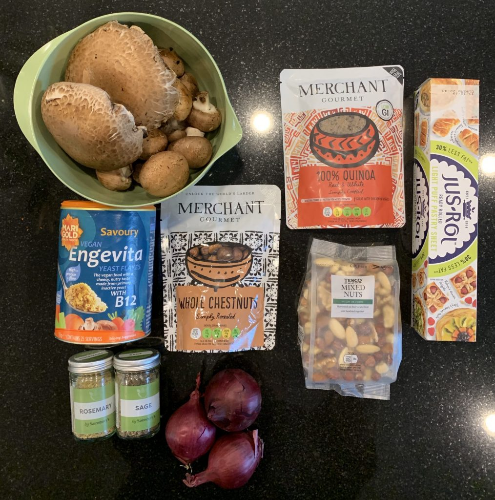Mushroom & Nut Rolls
