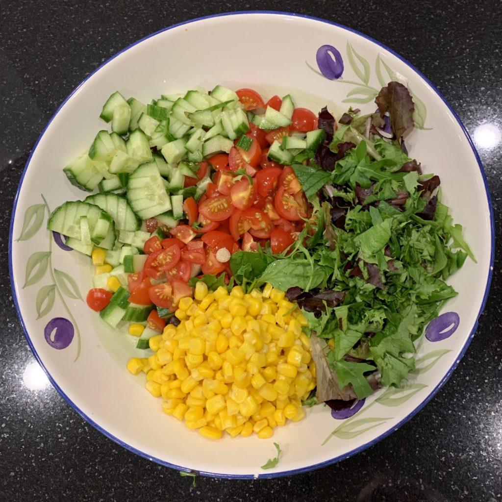 Sweetcorn salad