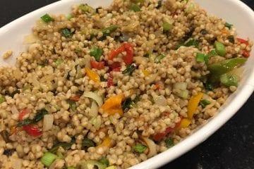 Minted Buckwheat Salad