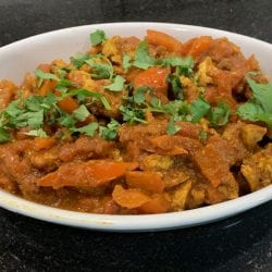 toasted tofu tikka curry