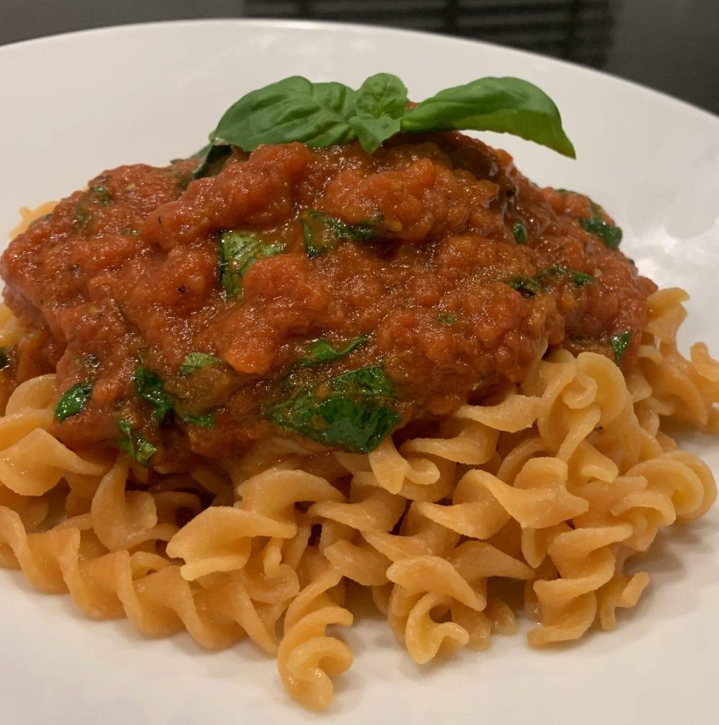 easy tomato sauce