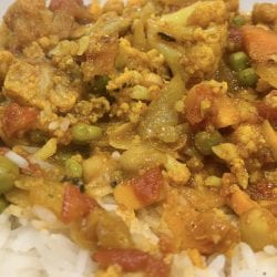 veggie chickpea curry