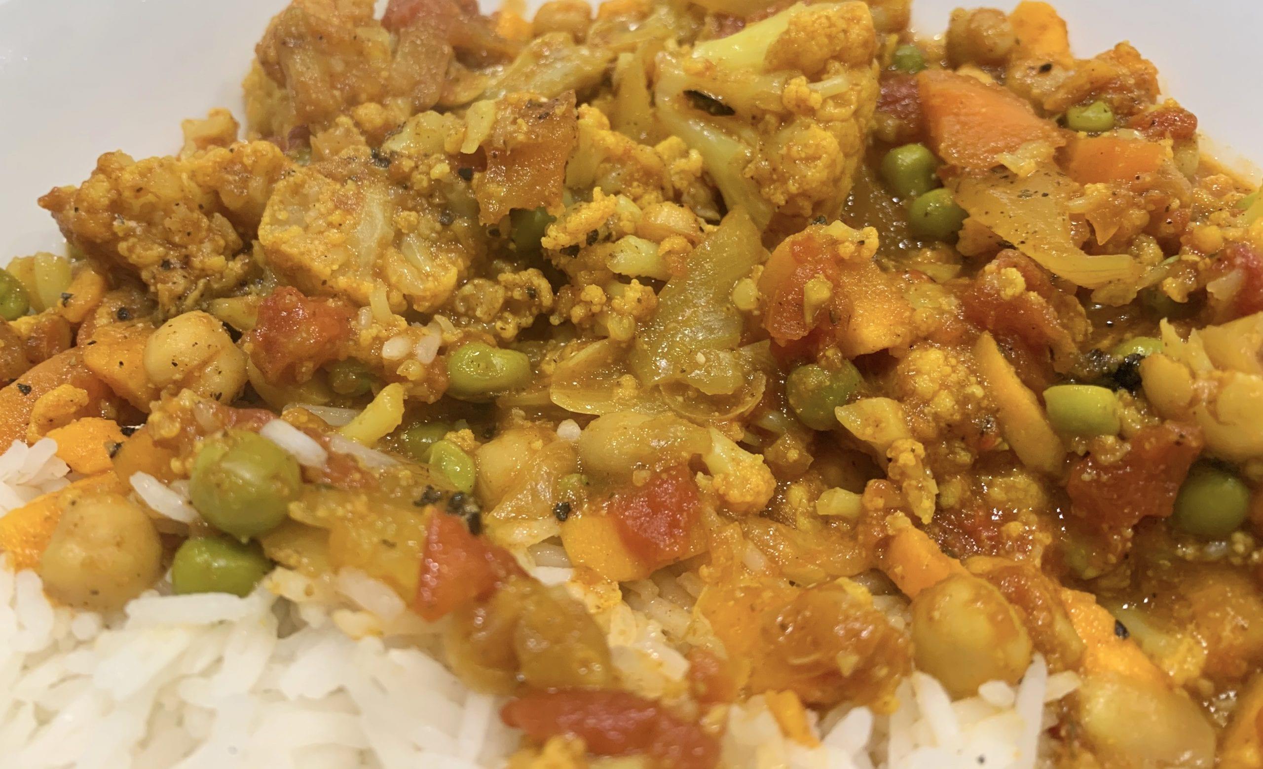 veggie chickpea curry