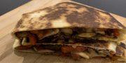 mushroom and pepper crunchwrap