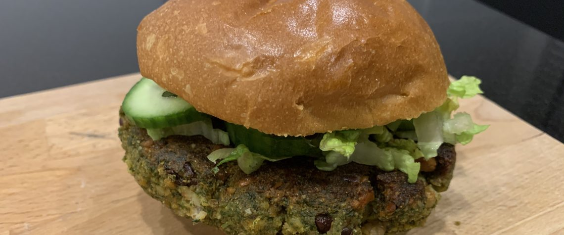 felafel bean burger