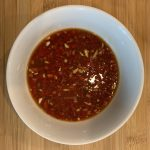 Miso, soy chilli dressing