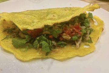 Vietnamese crispy pancakes
