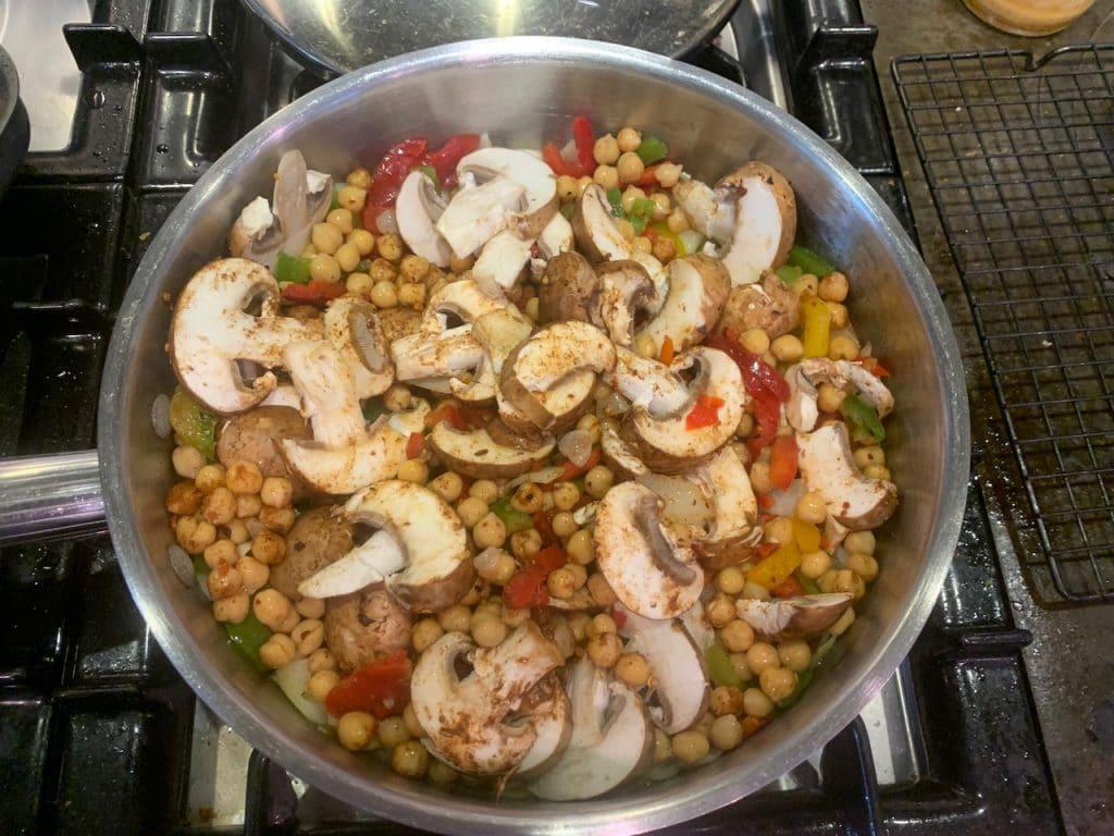 Moroccan Chickpea Tagine