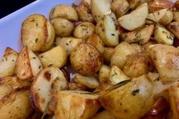 Italian roast potato salad